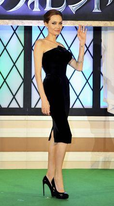 Angelina Jolie Maleficent-Tokyo Premiere