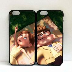 New Up Disney Carl and Ellie are reading Romantic for iphone 6/6s case via Lifen00