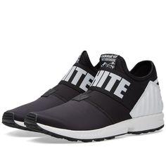 cbdaad46b3b05 Adidas x White Mountaineering ZX Flux Plus (Black) Mens Skechers
