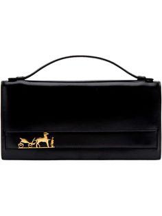 Hermès Vintage branded clutch bag