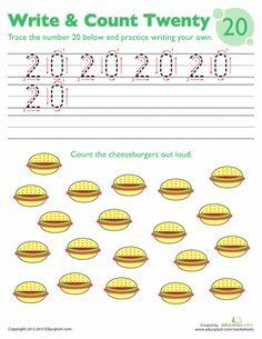 Worksheets: Trace Number 20