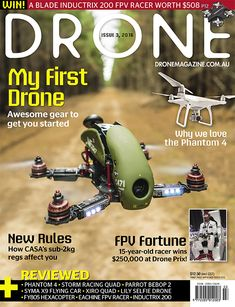 Drone Magazine delivers the best information and techniques to help you pilot your drone to its full potential, including articles on how drones work, beginner and expert flying tips, buyers' guides and technology reviews.