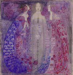 The Three Perfumes (Margaret MacDonald | Margaret MacDonald, aka Margaret MacDonald Mackintosh | United Kingdom | 1865 - 1933