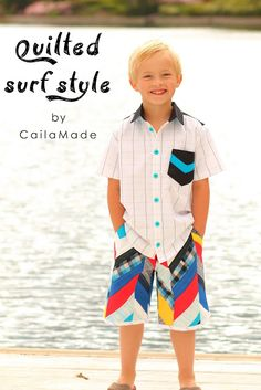 Caila-Made: The Sew-Vivor Finale: Quilted Surf Style