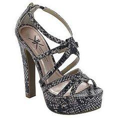 Kardashian Kollection Woman Shoe Phyton