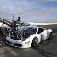 Ferrari camera rig @ Need for Speed camera tests: Revolution Cinema Rentals