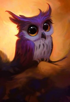Hermosa💖 Baby Owls, Cute Baby Animals, Cute Animal Drawings, Cute Drawings, Cute Owls Wallpaper, Owl Artwork, Owl Watercolor, Owl Pictures, Beautiful Owl