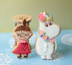 moomin & little my cookies