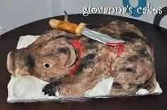 Image result for wild pig cake