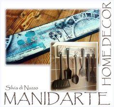 Portamestoli per la cucina. ..per informazioni silvia@dinuzzo.it  Www.manidarte.net