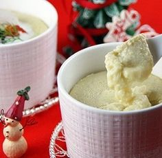 チーズ入りフラン(洋風茶碗蒸し)