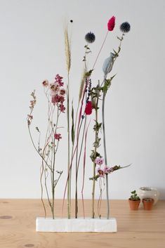 Diy Clay, Clay Crafts, Diy And Crafts, Diy Flowers, Flower Decorations, Dried Flower Arrangements, Dry Plants, Deco Table, Ikebana