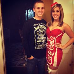 jack and coke costume things that go together sorority. Black Bedroom Furniture Sets. Home Design Ideas