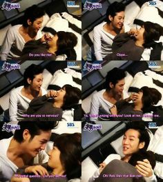You're Beautiful. Park Shin Hye and Jang Geun Suk behind the scenes