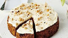 This carrot cake recipe swaps sugar and white flour for dates, whole wheat flour and bananas. The lemon cake uses oil and yoghurt, not butter.