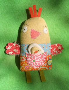 chicky doll ( no patterrn...just so cute)