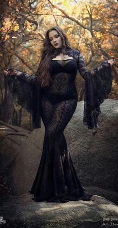 Gothic Dress Fantasy costume Night mermaid dress Sexy goddess Goth Evil queen Burlesque Stage wear Maleficent Cospay Club wear - Gothic Dress Fantasy costume Night mermaid dress Sexy goddess Source by - Goth Beauty, Dark Beauty, Gothic Dress, Gothic Outfits, Dark Fashion, Gothic Fashion, Style Fashion, Fashion Ideas, Steampunk Fashion