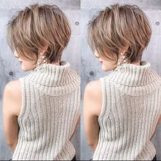 Short Messy Hairstyles for Fine Hair - Short Hair Styles Bob Hairstyles For Fine Hair, Haircuts For Long Hair, Undercut Hairstyles, Short Hairstyles For Women, Short Thick Haircuts, Messy Short Hair, Short Hair Cuts, Hair Trends, My Hair
