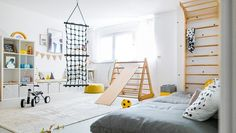 Anzeige// Unser Spielzimmer und 6 Dinge, die jeden Raum im Handumdrehen dazu mac… Advertisement // Our playroom and 6 things that make any room into it in a snap plus Ikea Hack for dots: ‹fräulein flora PHOTOGRAPHY Baby Bedroom, Bedroom Wall, Bedroom Decor, Nursery Decor, Design Hall, Game Room Kids, Game Rooms, Kids Room Furniture, Ikea Furniture