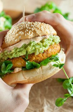 Chipotle Pumpkin Veggie Burgers - Quick, easy, and a total crowd pleaser! Each tasty patty is vegan, gluten-free + 100% freezer-friendly!