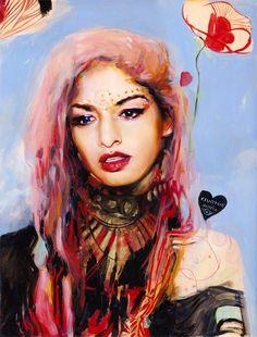 """""""India"""" by Charmaine Olivia"""