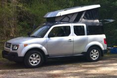 2008 Honda Element E-Camper 4WD/AWD Ursa Minor Vehicle Conversion-SOLD