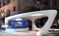 iCity Kiosk - Perth, Australia   Corian® Design & Inspiration
