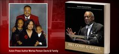 """Bill Cosby's cousin Merisa Parson Davis, authored the book """"Bill Cosby is Right!"""", defending her famous cousin's controversial statements pertaining to race."""
