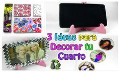 216. Manualidades: 3 Ideas para decorar tu cuarto (Reciclaje) Ecobrisa
