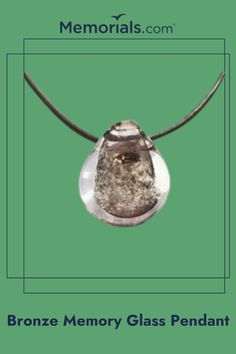 Keep your loved one with you at all times with this cremation jewelry pendant to hold their ashes.