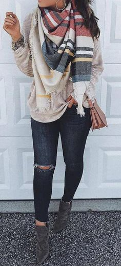 New moda casual femenina invierno jeans Ideas Fall Outfits 2018, Fall Winter Outfits, Autumn Winter Fashion, Spring Outfits, Casual Outfits, Cute Outfits, Fashion Outfits, Womens Fashion, Fashion Trends