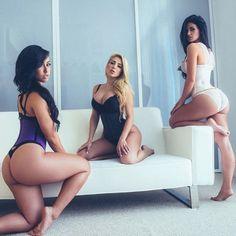Stephanie Rao, Valerie Orsini & Giselle Alonso