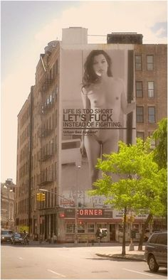Milla Jovovich Ad - Life Is Too Short. Let's Fuck Instead of Fighting. #fashion #movies