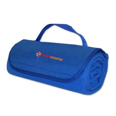Performance, portability, and price collide with this handy fleece blanket. It easily rolls up and is secured by a matching 600 Denier flap closure with full length pocket and carry strap, allowing for less expensive decoration options like screen print and heat transfer. Whether you are riding the range or watching the game, this is the blanket for you.180 g/sqm polar fleece with 600 Denier poly flap with decorator pocket. Attached carry strap.