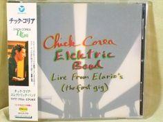 CD/Japan- CHICK COREA ELEKTRIC BAND Live From Elario's w/OBI RARE MVCR-239 #Fusion