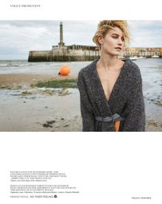 Delfine Bafort by Yelena Yemchuk for Vogue UK August 2014