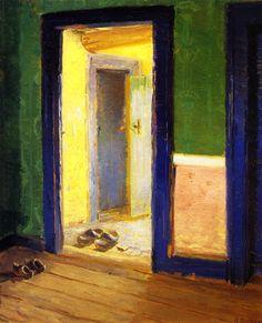 Anna Ancher – The Dinner Hour, ca 1914 Sorø Kunstmuseum (Denmark)