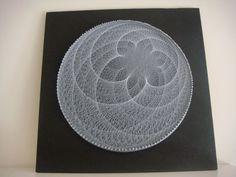 12 cardioids string art