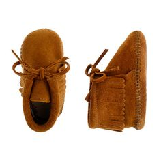 Minnetonka® baby fringe booties. crewcuts. i actually have two vintage pairs of these...one pair from a friend and another i found. :) so cute.