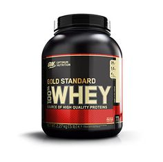 Optimum Nutrition 100% Whey Gold Standard, Vanilla Ice Cream, 5 Pound *** Be sure to check out this awesome product.