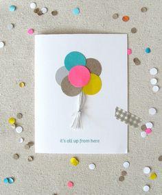 Mi Cajita Desordenada: DIY Tarjetas de cumpleaños muy fáciles de hacer