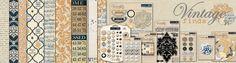 CHAs 2012 - Teresa Collins Designs - VINTAGE FINDS