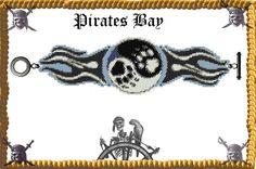 Pure Harmony Cuff/Bracelet  Miyuki Delica PDF by PiratesOfTheBeads, $6.00