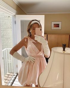 Cute Work Outfits, Trendy Outfits, Summer Outfits, Cute Prom Dresses, Casual Dresses, Pink Princess Dress, Feminine Style, White Dress, Pink Quartz