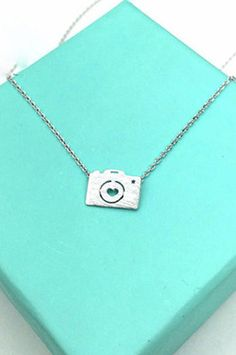 PFNECKLACEI Necklace With Silver Camera Pendant