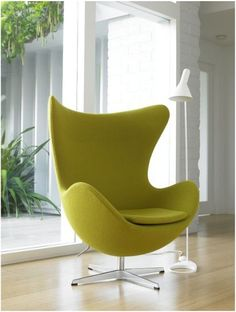 Egg chair - arne jacobsen  Cursos on line - Design de Interiores - www.casaecia.arq.br