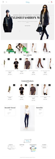 Create your #clothingstore with our best theme so Hurry and Register your #clothing store at theebazaar.com and start selling. visit our clothing theme at https://theme19.theebazaar.com/