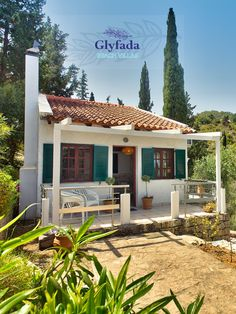 Glyfada House is located at the last corner of the Ionian sea. It is spread in the area of more than 17 acres offering the most luxurious and private accommodation services to you. #travel #paxos #greece Beach Villa, Greece, Web Story, Pebble Beach, Small Island, Villas, Acre, Seaside, Serenity