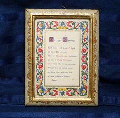 Vintage Florentine Wedding Gift/ Framed Marriage by CurioCabinet, $18.00