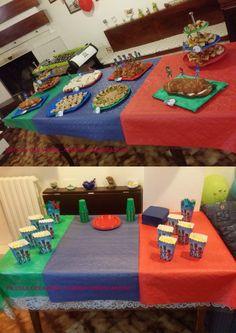 Tavoli da buffet pj masks party